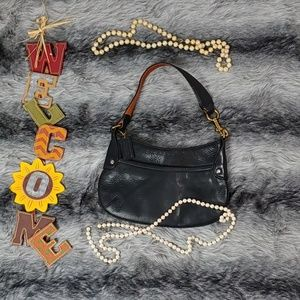 Coach Small Pebbles Leather Shoulder Bag